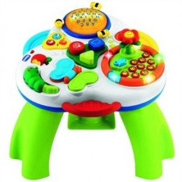 UŽSIĖMIMŲ STALAS CHICCO BILINGUAL TALKING GARDEN ACTIVITY TABLE