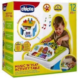 MUZIKINIS STALAS CHICCO MUSIC 'N' PLAY