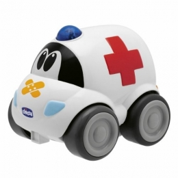 GREITOSIOS PAGALBOS AUTOMOBILIS CHICCO RC RECHARGEABLE AMBULANCE