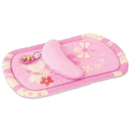 LAVINAMASIS KILIMĖLIS BRIGHT STARTS TUMMY PROP & PLAY MAT PRETTY IN PINK