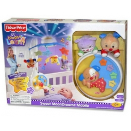 MUZIKINĖ KARUSĖLĖ FISHER PRICE LIL LAUGH & LERN