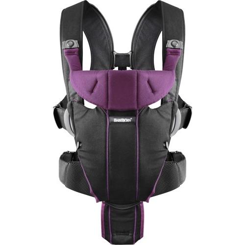 BABYBJÖRN NEŠIOKLĖ MIRACLE Black/Purple Cotton 096053