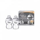 TOMMEE TIPPEE CLOSER TO NATURE 2 BUTELIUKAI SU ŽINDUKU 260ml